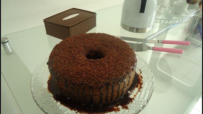 Bolo de Chocolate no Liquidificador bem Fácil de Fazer