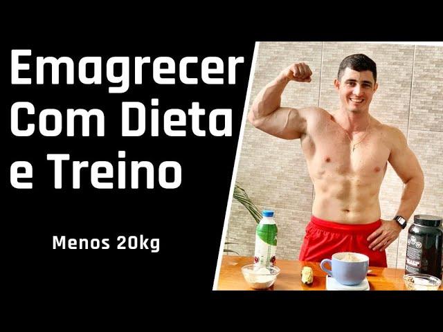 Como Emagrecer 20kg Em Casa  ** 5 Passos Dieta e Treino **