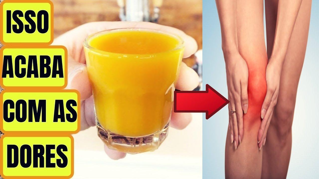 Faça Essa Receita Para Eliminar Dores Nas Costas, Pernas e Articulações