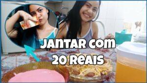 JANTAR COMPLETO COM APENAS 20,00 REIAS COLLAB KELLY REIS