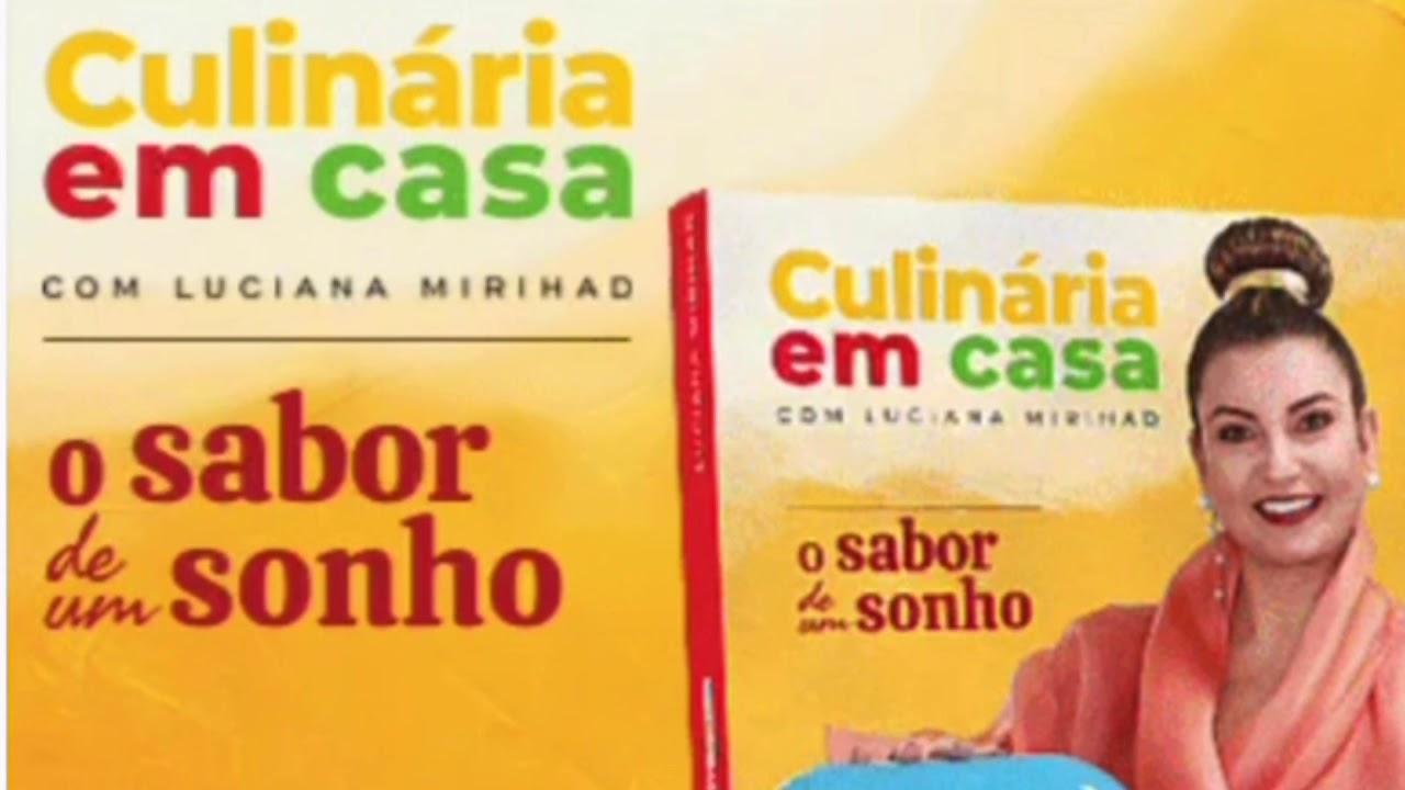 Livro de receitas culinárias em casa