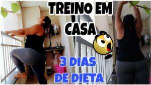 TREINO EM CASA/ REEDUCAÇÃO ALIMENTAR/ROTINA DE DIETA